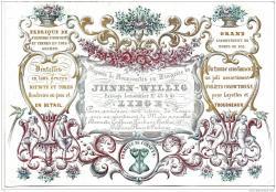 REPRODUCTION CARTE DE VISITE MAISON JONEN WILLIG